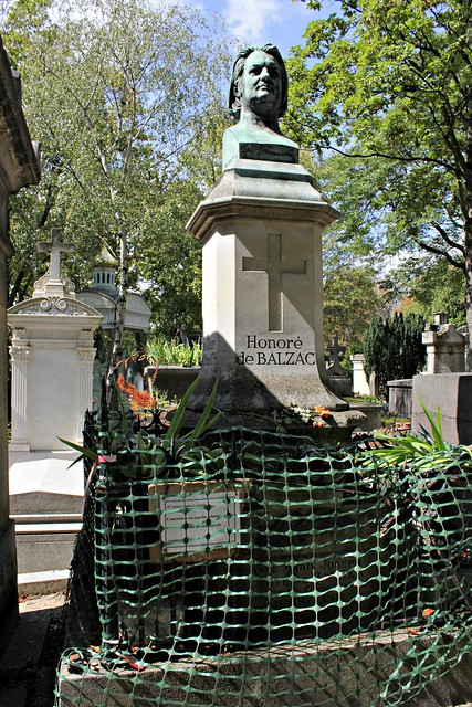 Tomb of Honoré de Balzac (1799-1850) - Novelist and playwright