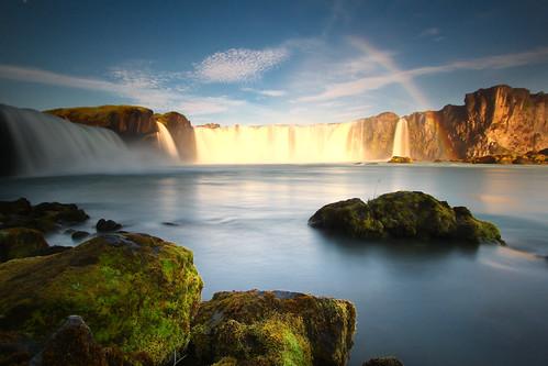 bw canon waterfall iceland 500d goðafoss canon1022mmefs