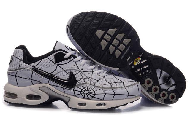 TN chaussures pour hommes Nike Air Max Blanc Noir-www.vend… | Flickr