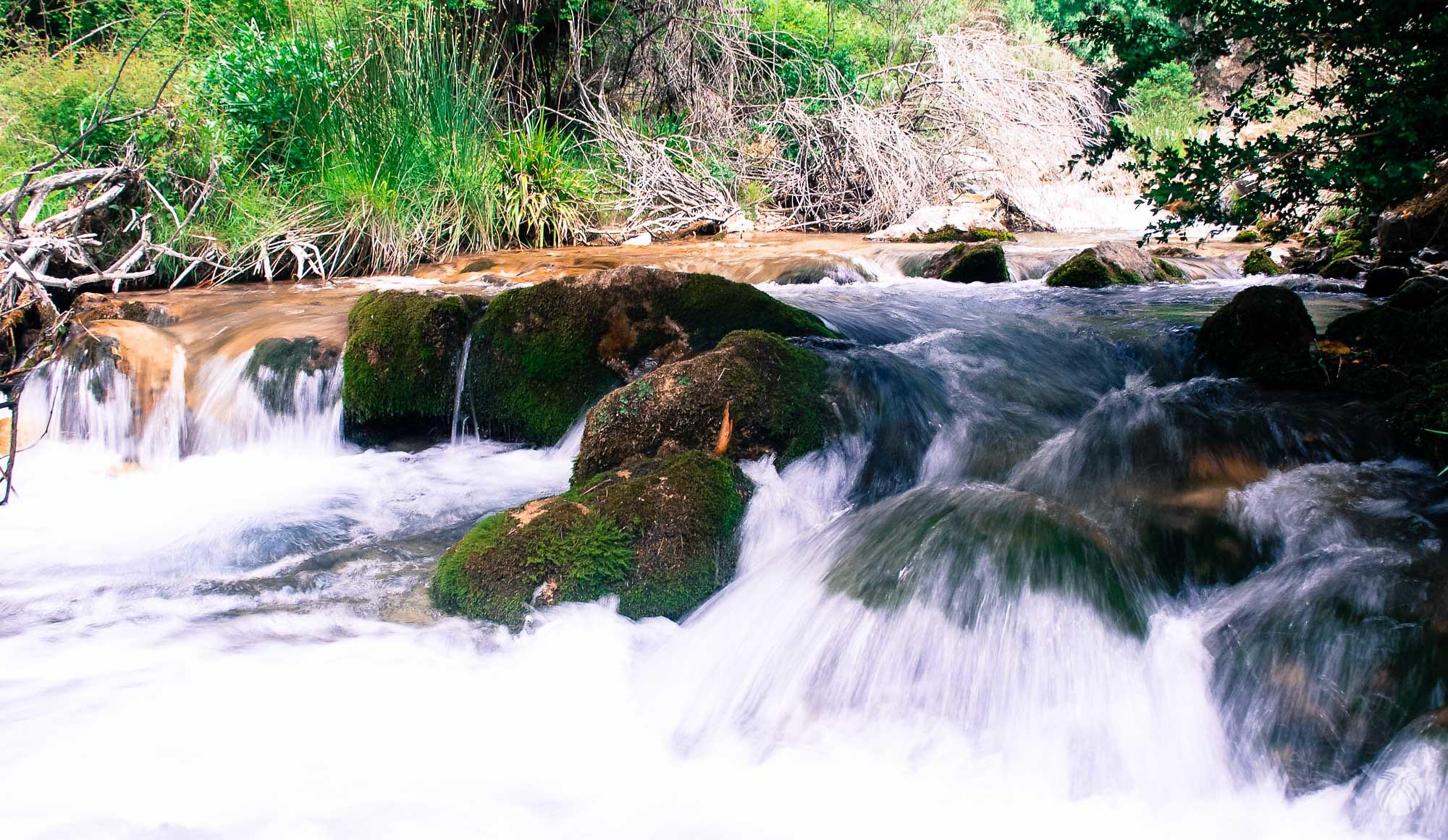 Intentando (sin éxito) suavizar el agua