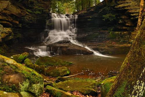 longexposure nature waterfall nikon cascade circularpolarizer ndfilter supershot nikond90 ohiowaterfalls honeyrunfalls