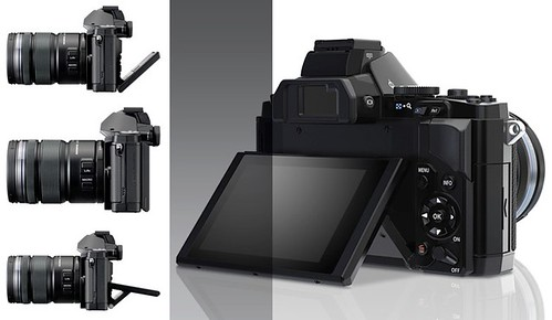 Olympus OM-D E-M5 - Tilting LCD | by ** David Chin **