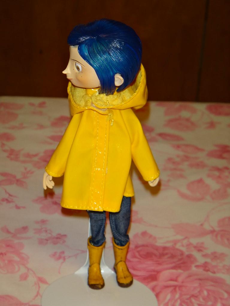 Neca Coraline Raincoat Bendy 7 Doll Deboxed Hood Off Flickr