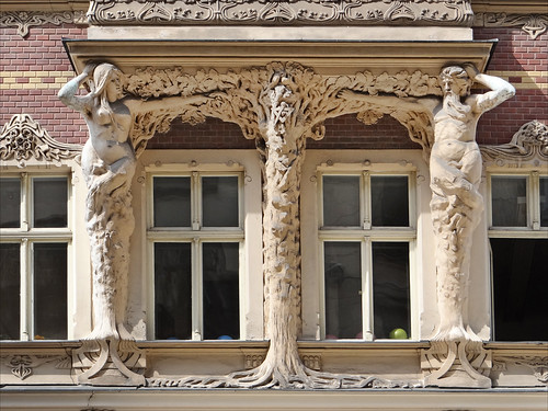 Immeuble art nouveau (Riga) | by dalbera