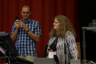 Keith Gilmerton and Linda Newman at the Winners and Invitation session