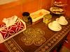 山后45號民宿(山后邀月)英式古典風客房提供的下午茶