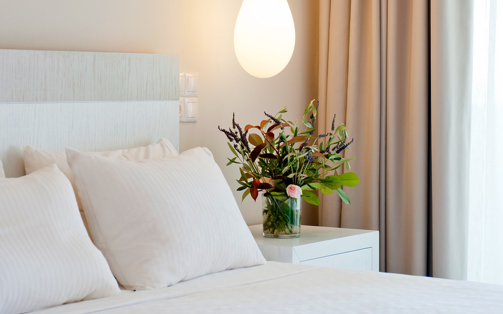 Modern Decor of the Deluxe Double Rooms of Kassandra Bay