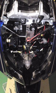 Inside of front faring | by ANDY from SUZUKA