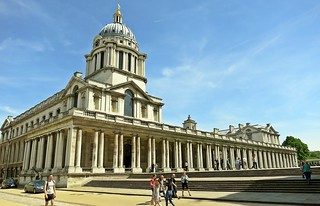 Old Royal Naval College, Greenwich, England