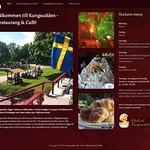 Kungsudden i Kungsör har fått sin hemsida lanserad. Det kommer att tillkomma bordsbokningssystem på sidan inom kort. www.kungsudden.se