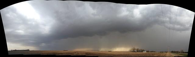042314 - Severe Storms South Central Nebraska (Pano)
