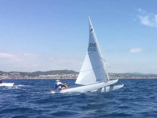 Campionat de Catalunya de patí a vela sènior 2016, Calafell.