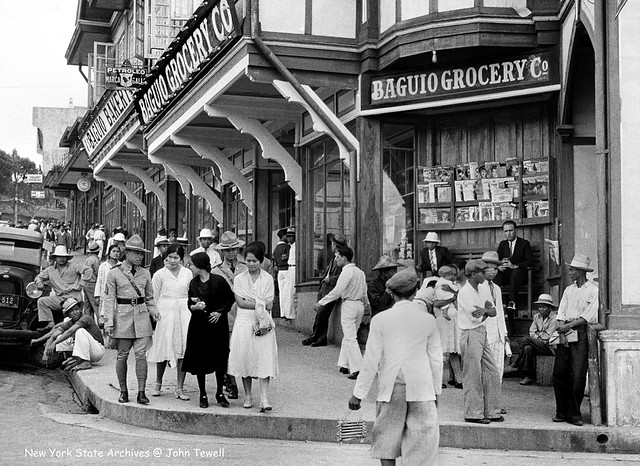 Baguio Grocery store, Baguio, Northern Luzon, Philippines, January 1, 1932