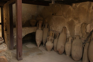 Amphoras in Herculaneum | by access.denied