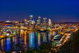 Pittsburgh at Night Last Shot   by Photomatt28