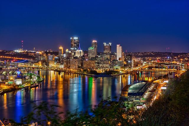 Pittsburgh at Night Last Shot