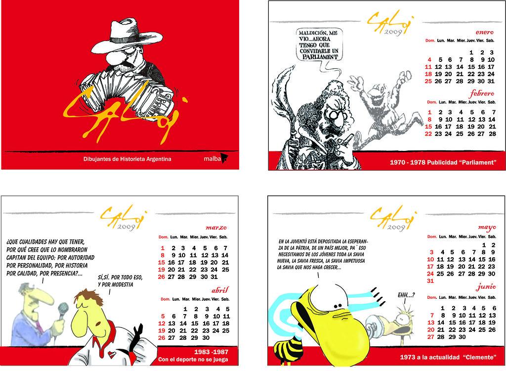 Calendario 1973.Calendario Expo Malba T P Juan Marchetti Flickr