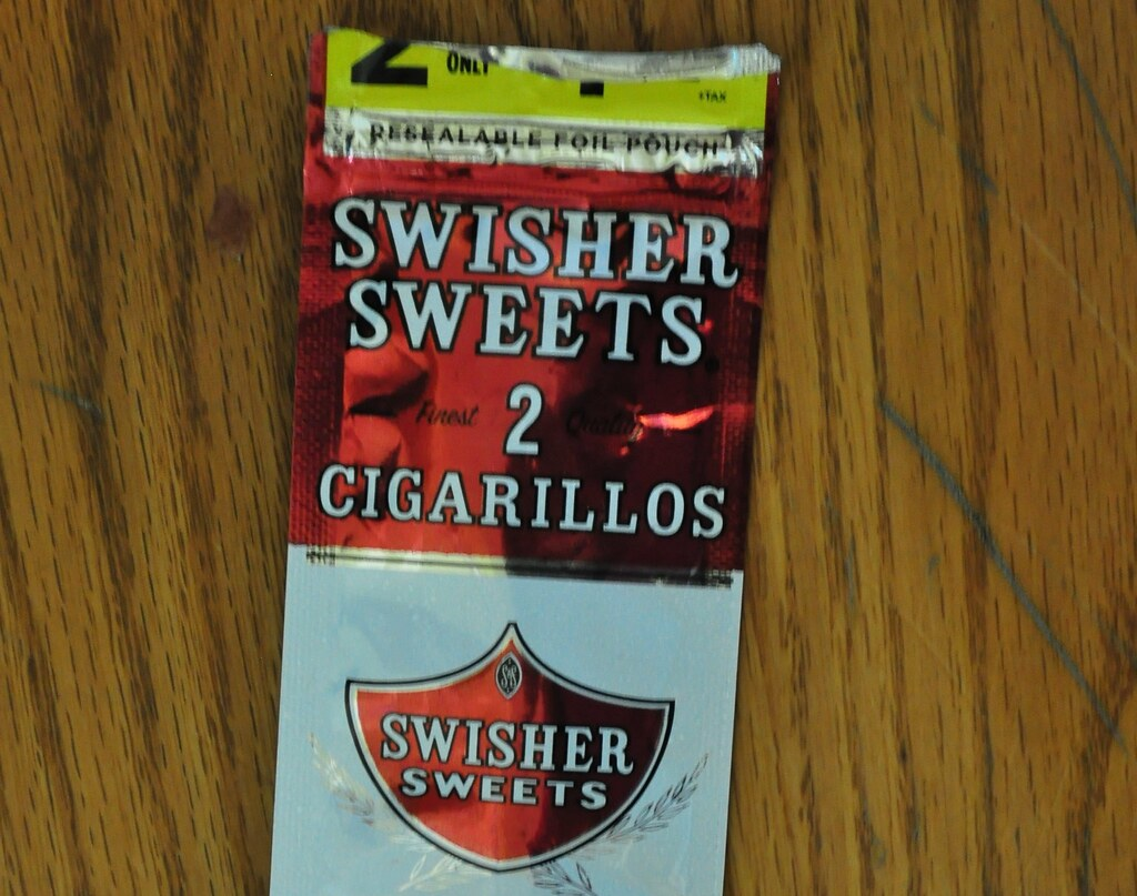 189/365 - Swisher Sweets Nostalgia | I saw this wrapper on t