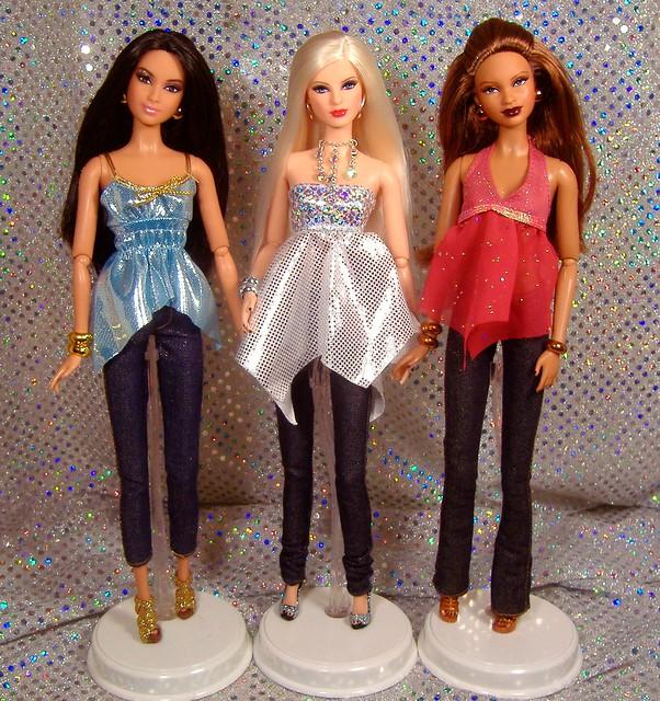 Barbie Basics 2.5 in handkerchief tops #1
