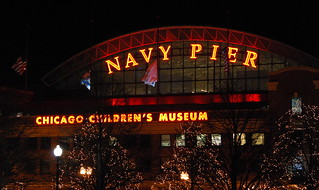 Navy Pier at night | by afagen