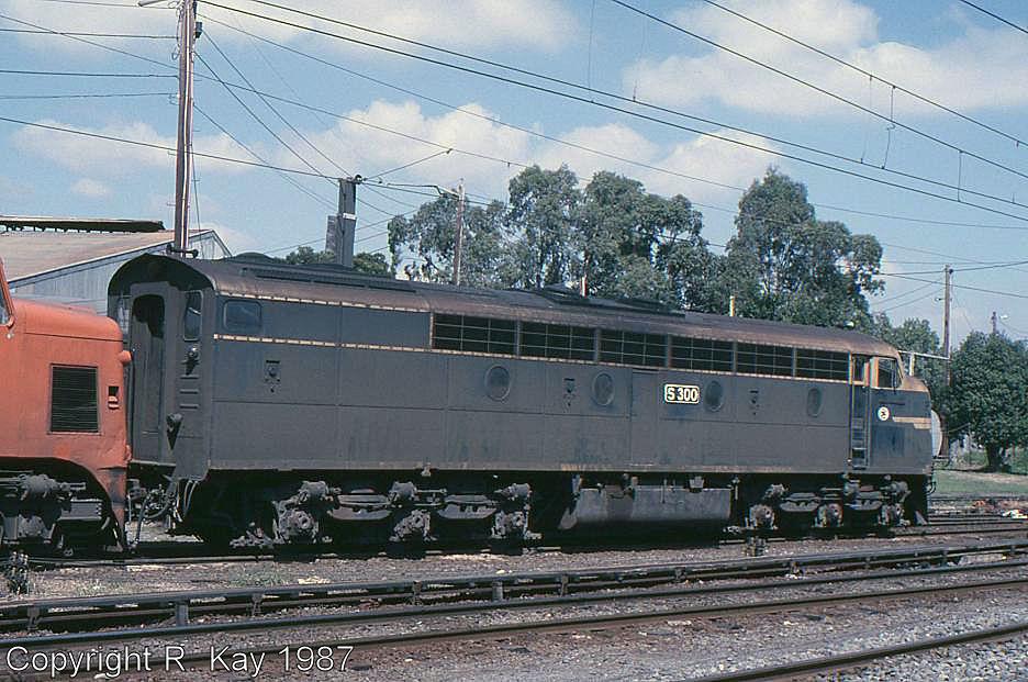 S-300 at Traralgon Loco Depot by Robert Kay