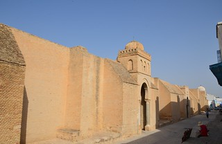 Kairouan, Great Mosque, west wall (3) | by Prof. Mortel