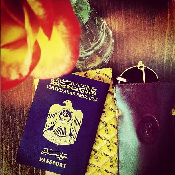 aaa #cartier #goyard #passport #uae #rose #airport | Flickr