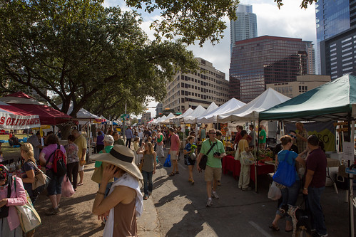 Austin downtown farmers' market | by Lars Plougmann