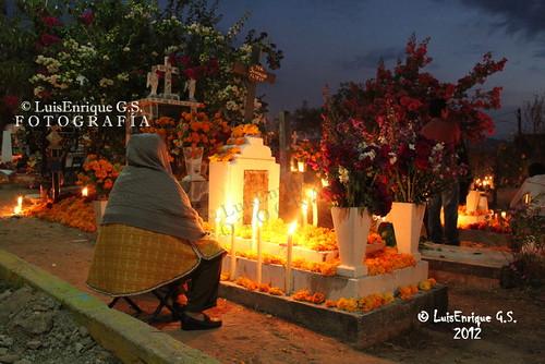 Velación de Día de Muertos 2012 - Chiautla de Tapia - Puebla - México