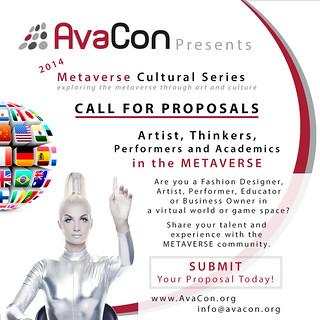 AvaCon - 2014 Metaverse Cultural Series