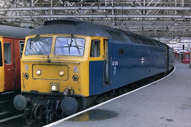BRITISH RAIL 47474