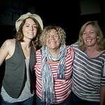 Mon, 02/07/2012 - 1:06pm - Brandi Carlile with Rita Houston and Cara Tobin in Studio A. 7.2.2012. photo by Erica Talbott