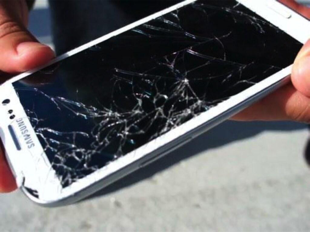fix crack smartphone screen