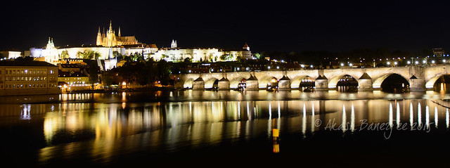 Charles Bridge @ Night!