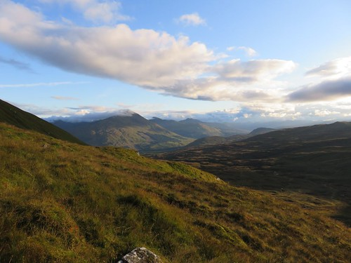 Sgiath Chuil Meall ben more view up cloud top | by ancancha-oomtoo
