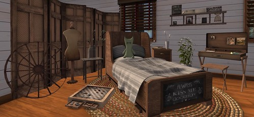 Serenity Style- Always Kiss Me Goodnight | by Hidden Gems in Second Life (Interior Designer)