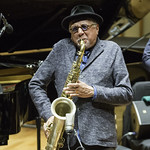 Charles Lloyd's 'Wild Man Dance' Quartet at Zipper Concert Hall, Sunday, October 18, 2015. Photos reproduced by Bob Barry's kind permission.