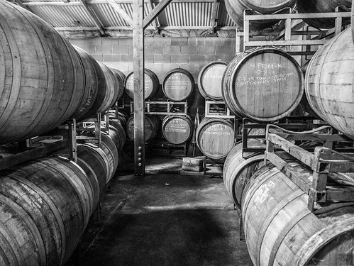 Wine Barrels at Kirigin Cellars | by donjd2