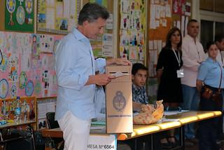 Mauricio Macri votando.- | by Mauricio Macri