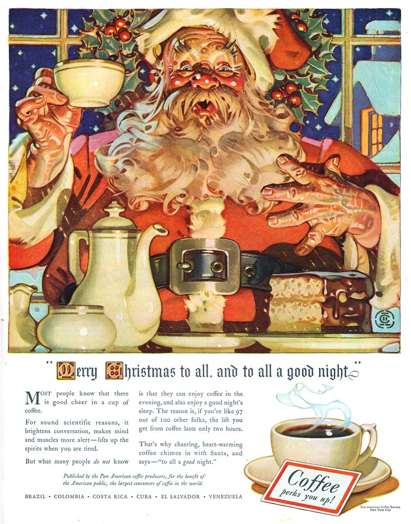 Pan American Coffee Producers - published in The Saturday Evening Post - November 30, 1940