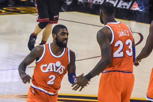 Kyrie Irving and LeBron James | by EDrost88