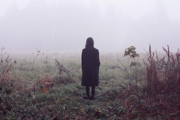 Morning fog, me