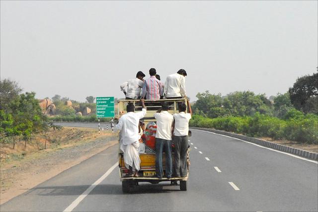 Sur la route (Inde)