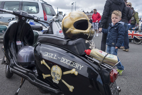 Easter National Scooter Rally, Whitby