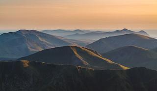 'Shadowed Peaks' - Snowdonia   by Kristofer Williams