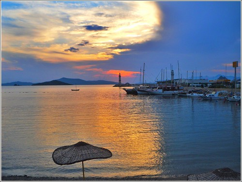 sunset sky beach night turkiye bodrum turgutreis skyporn skylovers