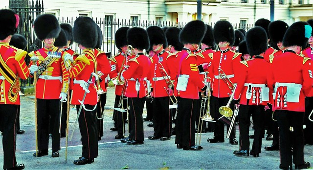 Massed Bands of The Household Division, Brass Section.