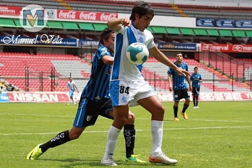 IMG_0441 Categoría SUB20 J13 TC2012 Gallos Blancos de Querétaro derroto 3-1 al Puebla FC encuentro disputado en el Estadio La Corregidora por Mv Fotografía Profesional – Manuel Vela  / www.pueblaexpres.com