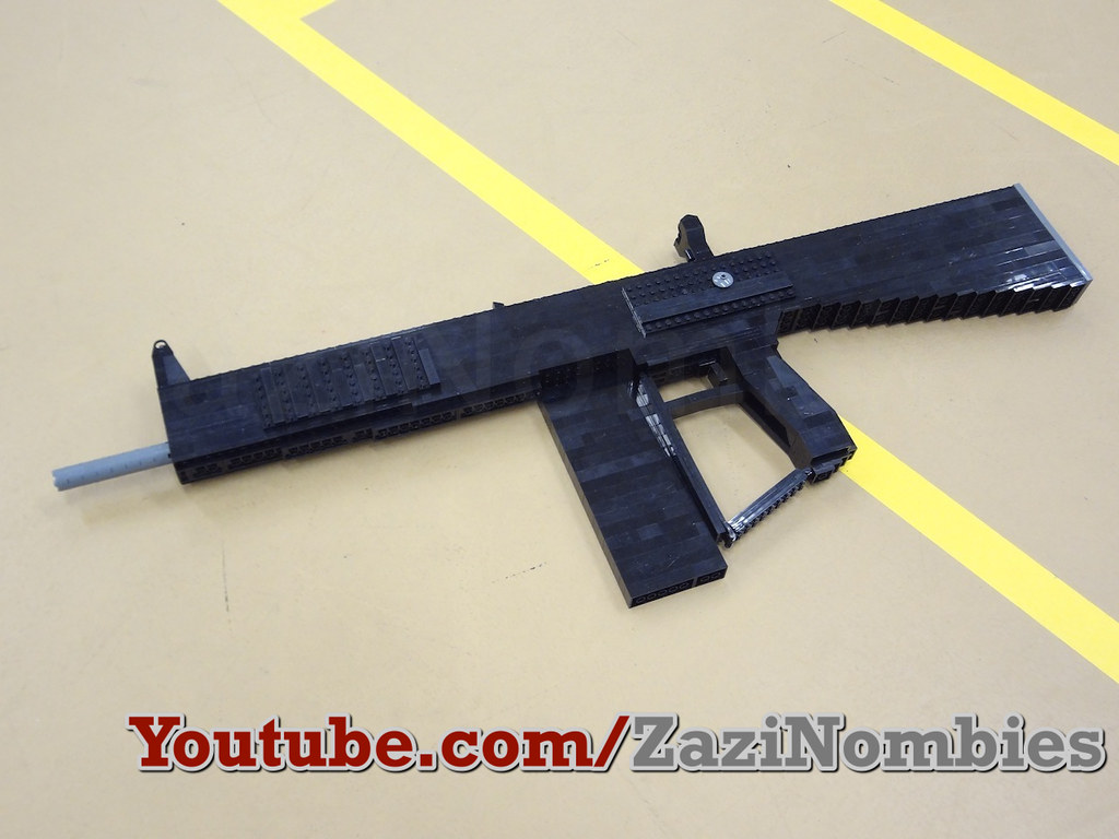 Lego AA12 Shotgun Mw2 | The AA12 Automatic Shotgun built lif