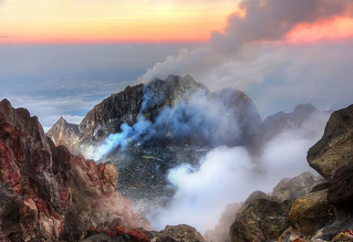 Inside an active volcano - Merapi | by Jimmy McIntyre - Editor HDR One Magazine